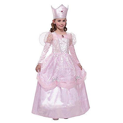 h Königin Queen Mädchen Kinder Fasching Karneval Kostüm Costume 122-128 (Engel Prinzessin Kostüm)