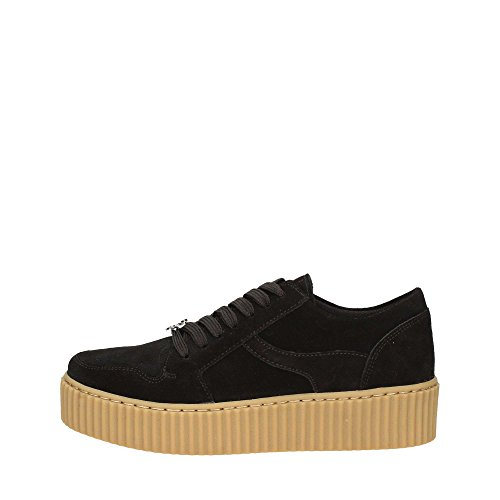 Windsor Smith Oracle, Sneaker a Collo Alto Donna Nero