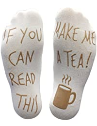 c209cfec7b293  If You Can Read This Make Me A Tea!  Funny Novelty Socks For ·