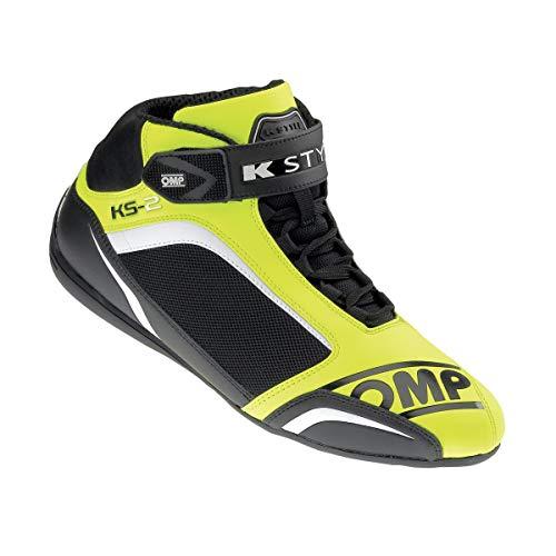 OMP ompic e 81205942KS-2Scarpe, colore: giallo fluo/nero, taglia 42