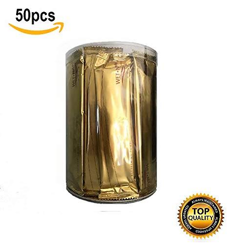 XXL Erfrischungstücher Rolls, einzeln verpackt, perfekt für besondere Anlässe, beste Qualität, 50 Stück