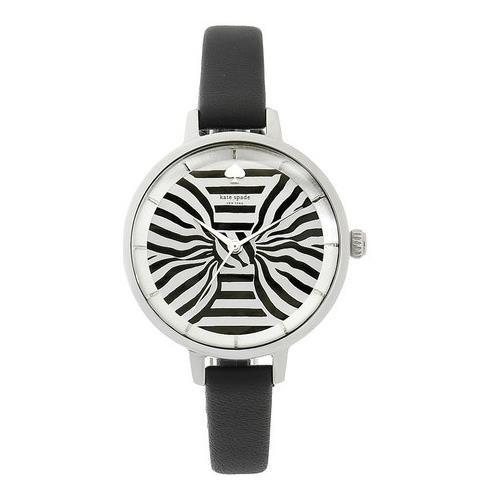 kate-spade-womens-new-york-metro-34mm-black-leather-band-quartz-watch-ksw1032