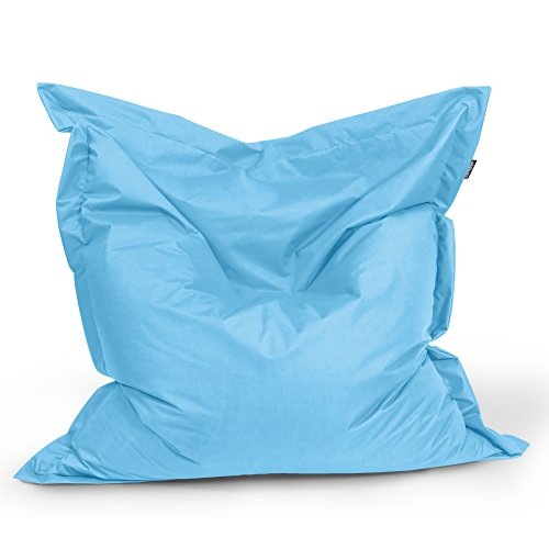 BuBiBag Sitzsack Rechteck Größe 180x145 cm (hellblau)