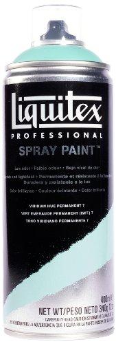 Liquitex  Professional Spray Paint - Acrylfarbe, Farbspray auf Wasserbasis, lichtecht, 400 ml -Viridian Permanent Imit. Nr. 7