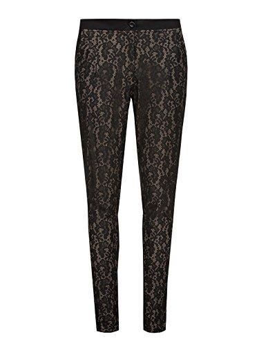 Vive Maria Black Lace Pants Girl-Hose leopard L