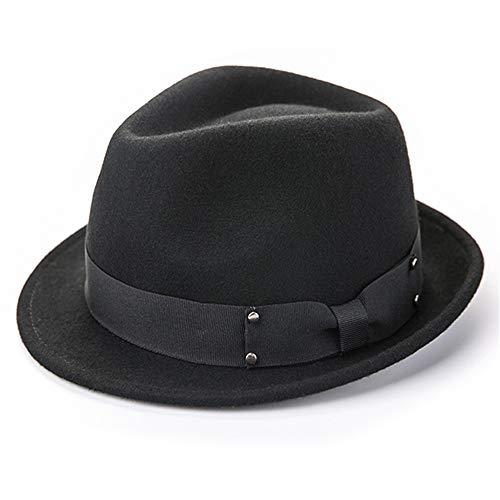 Gububi Hut Winter Wolle Kleidung verkleiden Sich Match Jazz Hüte für Erwachsene Kostüm Party Hüte für Männer Frauen Unisex - ()