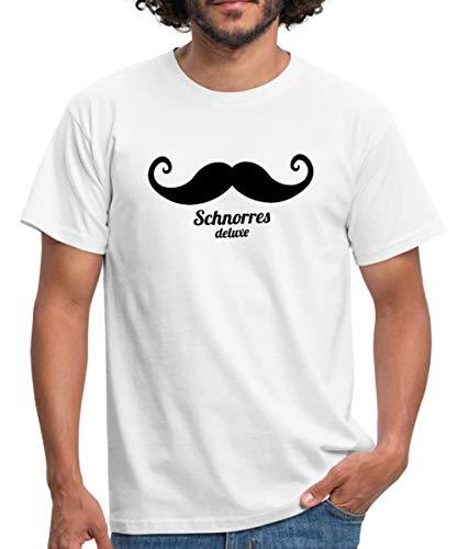 Spreadshirt Schnorres Deluxe Männer T-Shirt, XL, ()