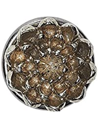 Noosa Petite Chunk Raw Romance Oshun Sunflower - white brass (silber)