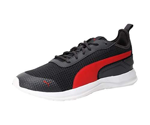 Puma Men's Manitoba Idp Asphalt-High Risk Red Running Shoes-10 UK (44.5 EU) (11 US) (37258003_10)