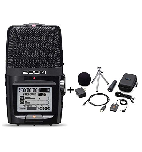 Zoom - Registratore audio digitale H2N + kit di accessori APH-2N