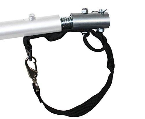 universal Kupplungsadapter mit Feder Deichselanschluß für Kinderanhänger