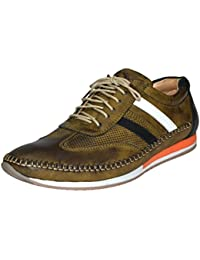 Human Steps Men's Big Size Lace up Corporate Casual Sneaker