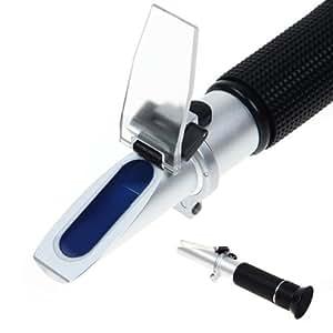 Réfractomètre portable mesure la gravité de l'urine (SG), protéines sériques totales (SP) et l'indice de réfraction (RI)