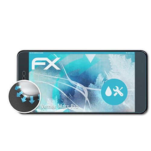Preisvergleich Produktbild atFolix Vernee Mars Pro Folie - 3 x FX-Curved-Clear flexible Schutzfolie - vollflächiger Schutz bis zum Rand