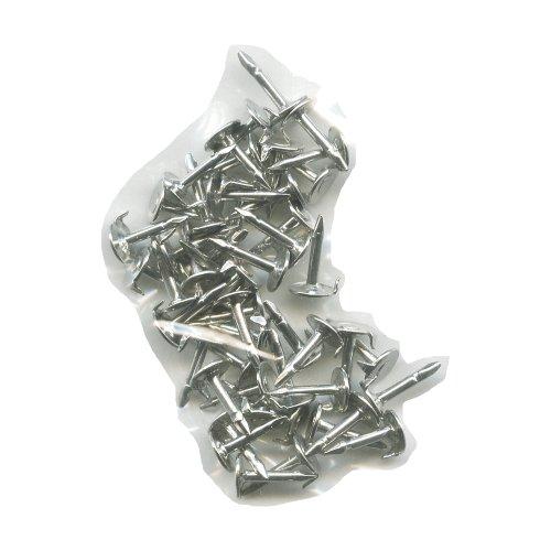 50Pins Silber neue Ersatz Nadeln für Pin Badge