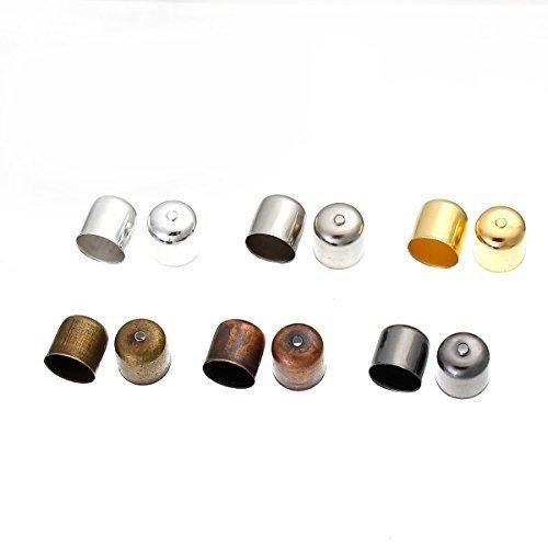 SiAura Material 120 Stück Endkappen Verschlüsse in verschiedenen Farben