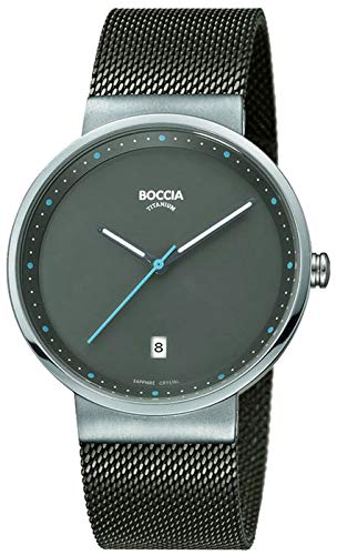 Boccia Armbanduhr 3615-01 Herrenuhr