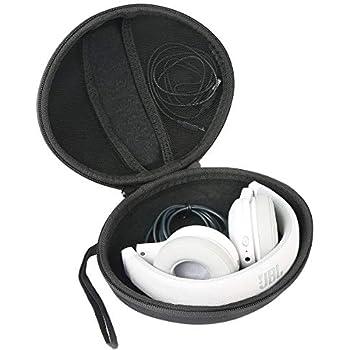 Netz-Innentasche, Case mit Karabinerhaken, Innenma/ß 17 x 16,5 x 6 cm, geeignet f/ür On Ear//Over Ear Headset Hama universelle Schutz-//Kopfh/örer-Tasche schwarz