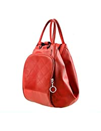 Deal Especial Red Stylish Big Size Backpack Women Shopping Handbag