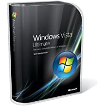 Windows Vista, Ultimate Edition with Service Pack 1 (32-bit and 64-bit DVD) (PC)