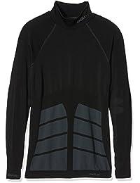 Odlo Unterhemd - Camiseta para hombre, tamaño XL, color negro