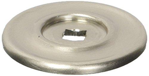 Satin Nickel Backplate (Baldwin 4903150Schrank Backplate, Satin Nickel)