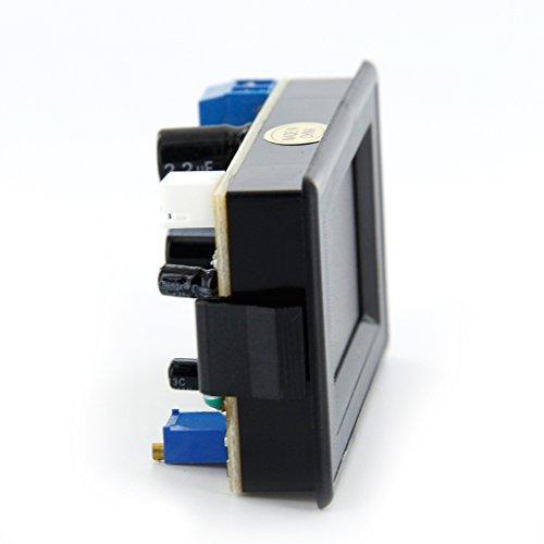 Sharplace 1pz AMP Ampèremètre 200A Shunt 3 2/1 Ecran Digital LED Panneau Rouge AC DC12V-260V Nero
