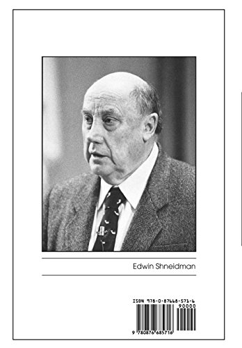 Suicidology: Essays in Honor of Edwin Schneidman