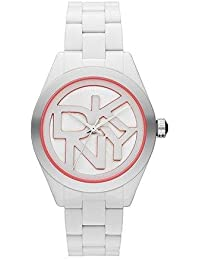 Reloj DKNY NY8753 Mujer Policarbonato Blanco Cumpleaños