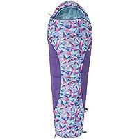 Mountain Warehouse Sac de Couchage Enfant Apex Mini - Forme Momie, léger, Compact - pour soirées Pyjamas ou Camping