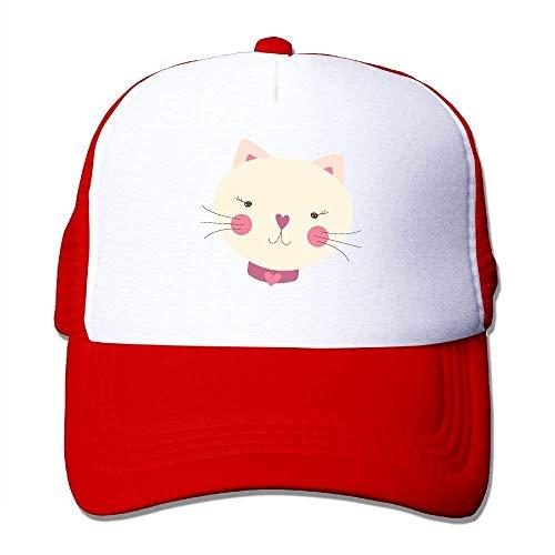 Wdskbg Cartoon Cat Adjustable Sports Mesh Baseball Caps Trucker Cap Sun Hats New2