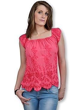 BELLE&COEUR - Camisas - Moda - Básico - Cuello redondo - para mujer