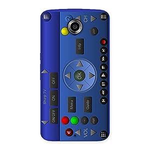 Delighted Super Remote Multicolor Back Case Cover for Nexsus 6