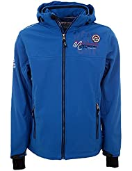 Vent du cap - chaqueta softshell hombre CENORD- azul - XXL