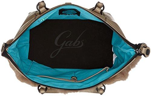 GABS - G3, Borsa a mano Donna Marrone (Greyisch Brown)