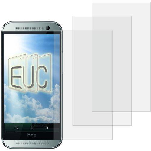 3 x Displayschutzfolie klar/wie unsichtbar für HTC One M8