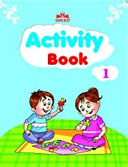 Gikso Activity Book – 1 for Kids Age 3-5 Years Old (English)