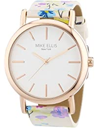 Mike Ellis New York Damen-Armbanduhr Analog Quarz Kunstleder L2979/5