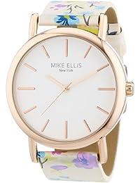 Mike Ellis New York L2979/5 - Reloj de pulsera mujer, piel, color multicolor