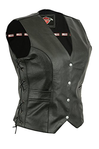 Ladies Texpeed Leather Cut with Laced Sides