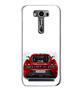 ifasho Designer Phone Back Case Cover Asus Zenfone Go ZC500TG (5 Inches) ( Quotes Conquer the world With Smile )