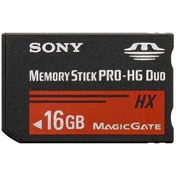 Sony Carte mémoire flash 16 Go Memory Stick PRO-HG Duo