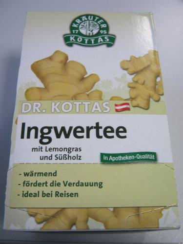 DR.KOTTAS Ingwertee mit Lemongras Filterbeutel 20 St