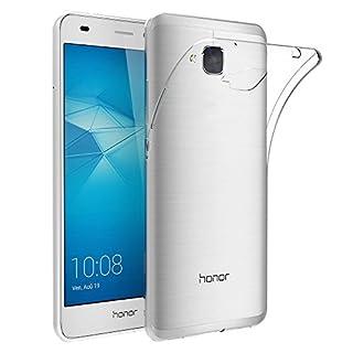 AICEK Huawei Honor 5C Hülle Case, Ultra-Clear Honor 5C Case Silikon Soft TPU Crystal Clear Premium Durchsichtig Handyhülle Schutzhülle Case Backcover Bumper Slimcase für Honor 5C