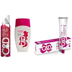 Clean and Dry Combo Wash pack of 3