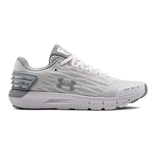 Under Armour Charged Rogue, Scarpe Running Donna, Bianco White/MOD Gray 106, 39 EU