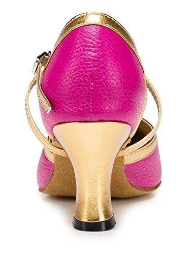 TDA , Sandales Compensées femme 7cm Heel Rose