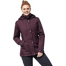 ec52794418bcdc Jack Wolfskin Park Avenue Jacket, wind- & wasserdichte sowie atmungsaktive  Winterjacke für Damen,