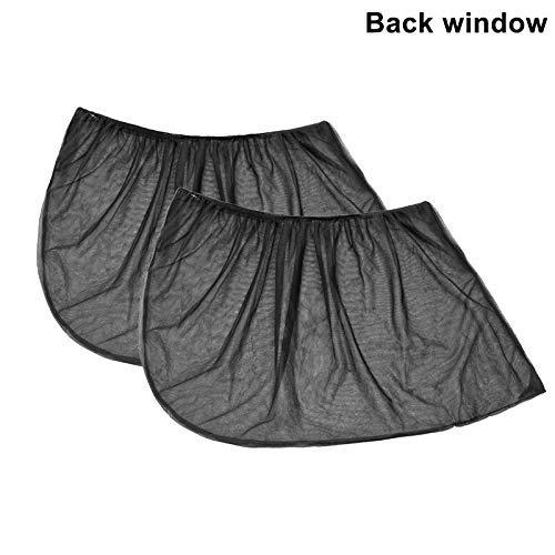 GOUPPER 2Pcs Slip On Window Shades (Back Window)