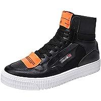 Leey università Scarpe Casual da Uomo Casual Scarpe da Ginnastica Harajuku a Fondo Piatto Sneaker Uomo Scarpe Sportive da Uomo